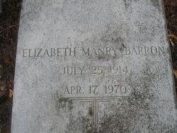 Elizabeth <I>Manry</I> Barron