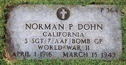 SSgt Norman P Dohn