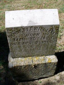 Bennett F. Williams