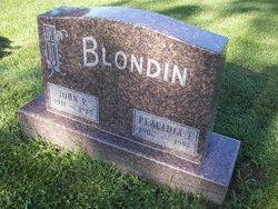 """Placidia T """"Pat"""" <I>Oyen</I> Blondin"""