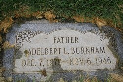 "Adelbert Luther ""Dell"" Burnham, Jr"