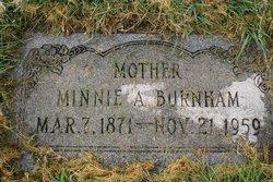 Minnie Amelia <I>Hatch</I> Burnham