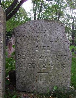 Hannah Lord