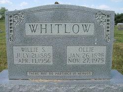 Ollie Alma <I>Druen</I> Whitlow