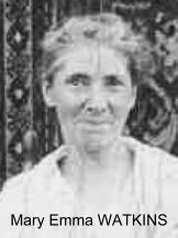 Mary Emma <I>Watkins</I> Watkins