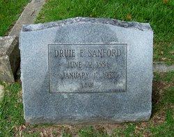 "Drucilla Elizabeth ""Druie"" <I>Overby</I> Sanford"