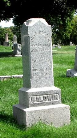 Mary A. <I>Wellman</I> Baldwin