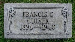 Francis C Culver