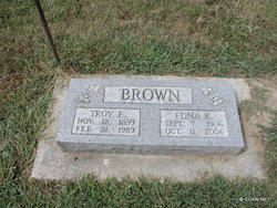 Edna K <I>Knight</I> Brown