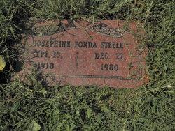 Josephine <I>Fonda</I> Steele