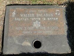 Walter Balaban