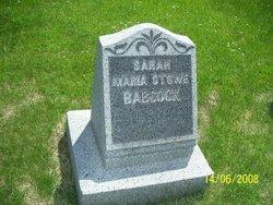Sarah Maria <I>Stowe</I> Babcock