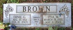 Una Mae <I>Wood</I> Brown