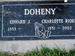 Charlotte <I>Rioux</I> Doheny