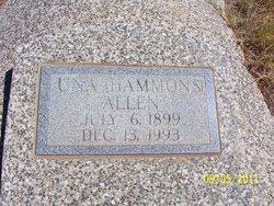Una E <I>Hammons</I> Allen