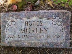 Agnes <I>Hutley</I> Morley
