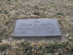 Helen Dorothy <I>Jaspers</I> Abbott