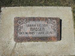 Sarah <I>Nelson</I> Madsen