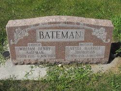 Vesta <I>Thompson</I> Bateman