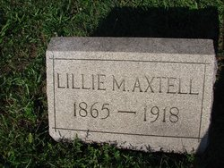 Lillie May <I>Gregg</I> Axtell