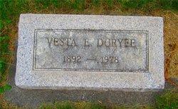 Vesta Emma <I>coleman</I> Duryee