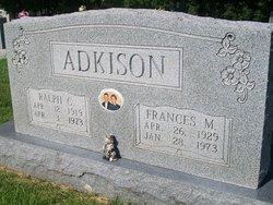 Frances Marie <I>Enloe</I> Adkison
