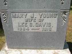 Mary Jane <I>Young</I> Davis