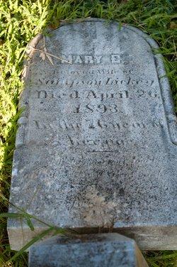 Mary E <I>Carson</I> Lickey