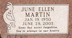 June Ellen <I>Housley</I> Martin