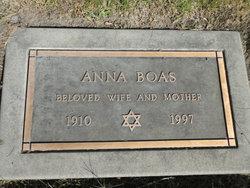 Anna <I>Sarlie</I> Boas