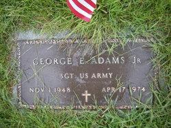 Sgt George E. Adams Jr.