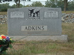 "Jasmer Wade ""Granny"" <I>Adkins</I> Adkins"