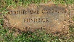 Dorothy Mae <I>Carbaugh</I> Bundrick