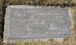 Lillian A. <I>Fowler</I> Bethel