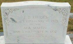 Ada <I>Martin</I> Rhodes