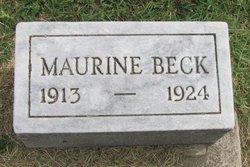 Martha Maurine Beck