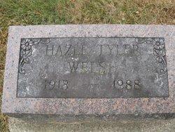 Hazel E. <I>Tyler</I> Welsh