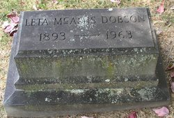 Leta Stella <I>McAmis</I> Dobson