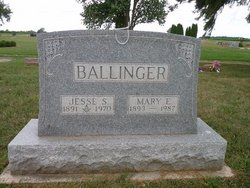 Mary E <I>Collins</I> Ballinger
