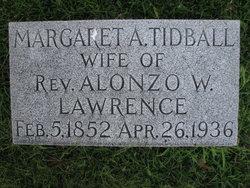 Margaret A. <I>Tidball</I> Lawrence