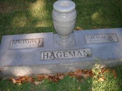 "Benjamin Franklin ""Ben"" Hageman"
