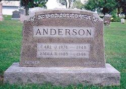Emma Bernhardine <I>Nelson</I> Anderson