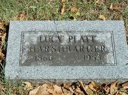 Lucy Stratton <I>Platt</I> Harshbarger