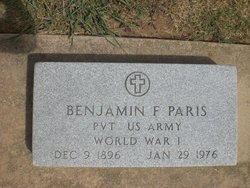 Pvt Benjamin Franklin Paris