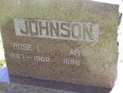 Arvid E Johnson