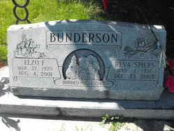 Reva <I>Spiers</I> Bunderson