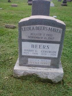 Gertrude <I>Soden</I> Beers