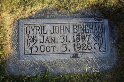 Cyril John Bingham