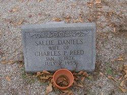 Sallie <I>Daniels</I> Reed