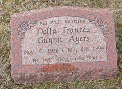 Della Frances <I>Guynn</I> Ayers